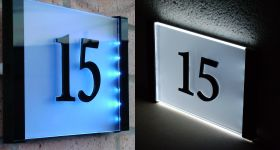 House Signs House Numbers And Plaques By Plastic Republic