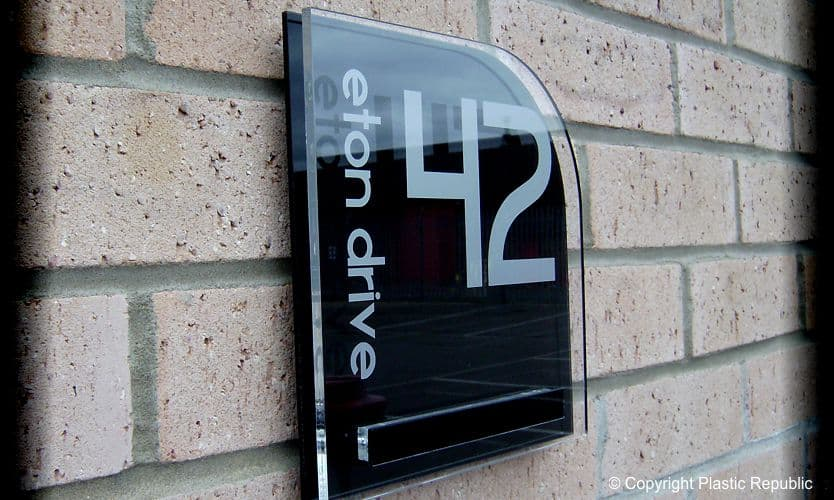 8ee64e2627df Designer Acrylic House Signs   The Cayman Range by Plastic Republic