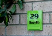 Lyndon house sign by Plastic Republic